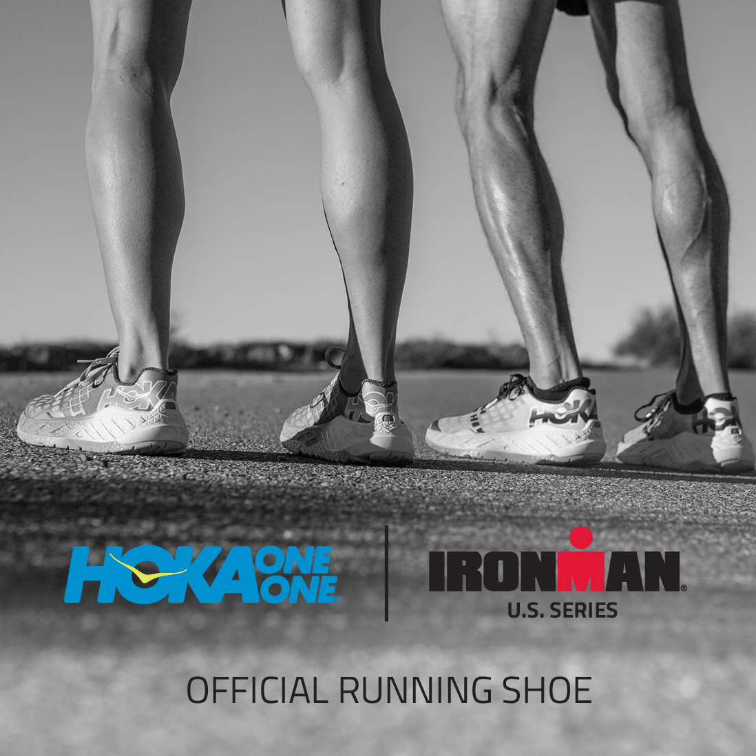 HOKA ONE ONE is official shoe of