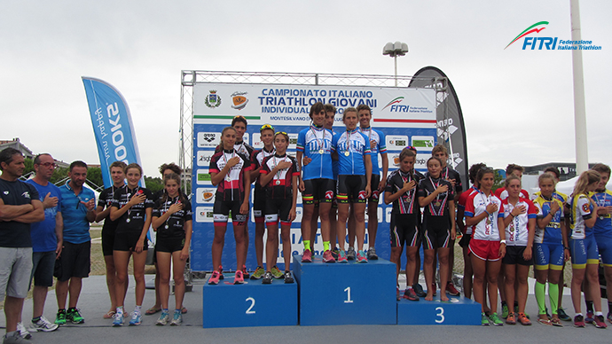 Youth team prizes in Montesilvano 2016