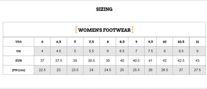 zoot-womens-shoes-size-chart