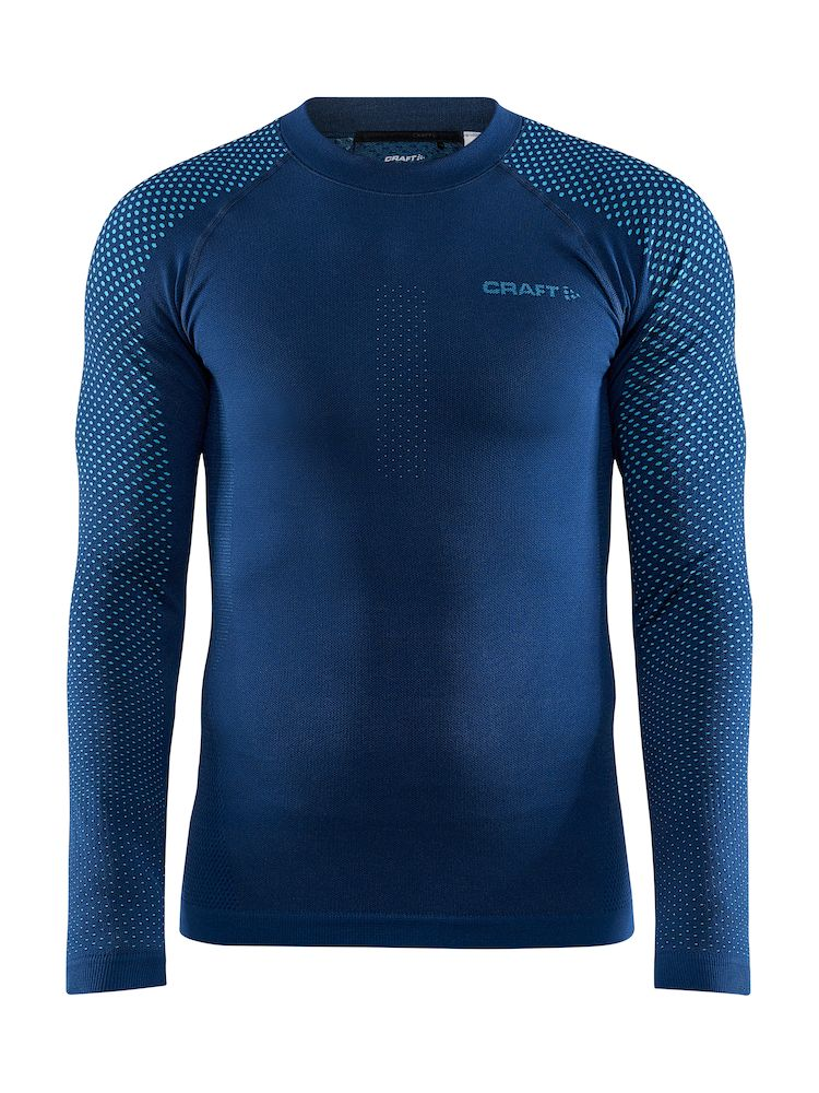 CRAFT ADV WARM FUSEKNIT INTENSITY LS MAN BEAT-LAZER