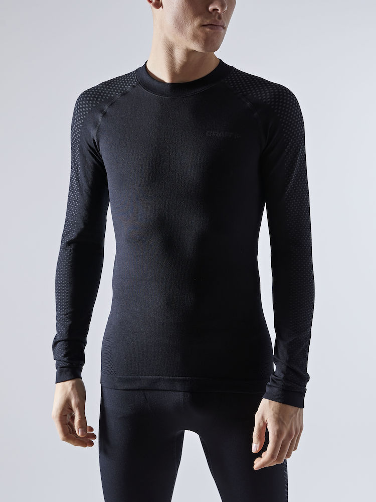 CRAFT ADV WARM FUSEKNIT INTENSITY LS MAN BLACK