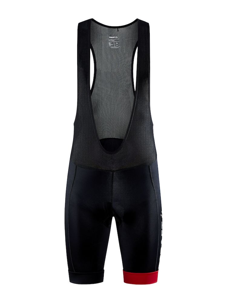 CRAFT CORE ENDUR BIB SHORTS MAN BLACK-BRIGHT RED