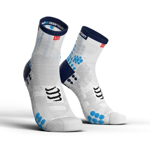 3 - ProRacing Socks V3.0 Run Hi White-Blue.jpg