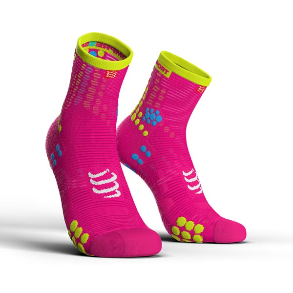 5 - ProRacing Socks V3.0 Run Hi Fluo Pink.jpg