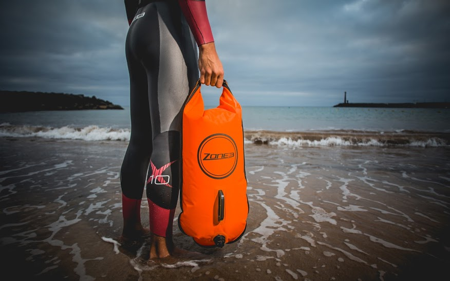 Borsa Galleggiante Per Nuoto Zone3 Swim Buoy Dry Bag 28l Photo 2 Jpg