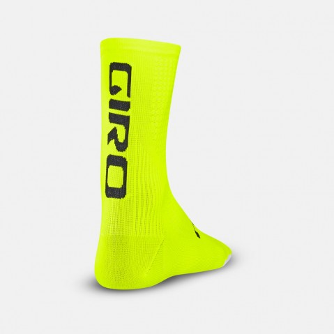 CALZA DA CICLISMO GIRO HRC TEAM yellow black GR773