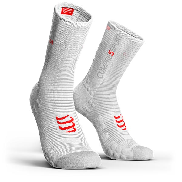CALZA COMPRESSPORT PRORACING SOCKS V3.0 BIKE SMART WHITE.jpg