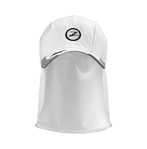 CAPPELLINO ZOOT CHILL OUT FLAP HAT WHITE.png