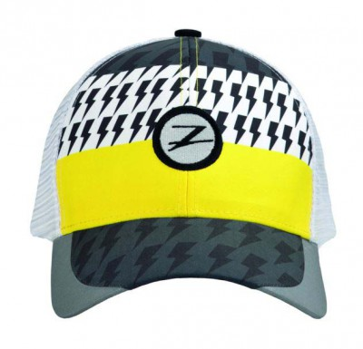 CAPPELLINO ZOOT TECH TRUCKER CAP WHITE NEON SAFETY YELLOW.jpg