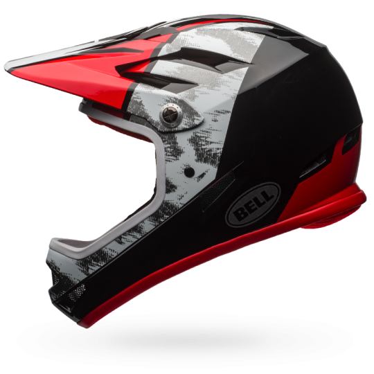 CASCO CICLISMO BELL SANCTION RED BLACK BS.125.png