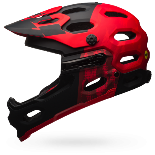 CASCO CICLISMO BELL SUPER 3R MIPS RED BS.130.png