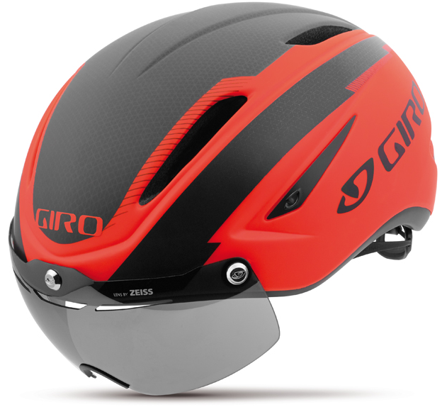 CASCO CICLISMO GIRO AIR ATTACK SHIELD VERMILLION GR158