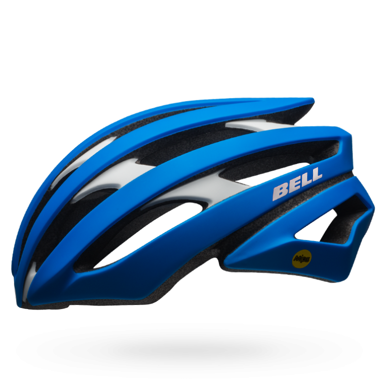 CASCO CICLISMO ROAD BELL STRATUS force blue BS.108.png