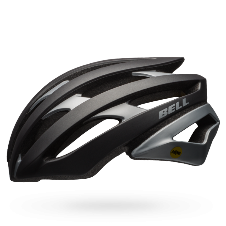 CASCO CICLISMO ROAD BELL STRATUS gunmetal silver BS.110.png
