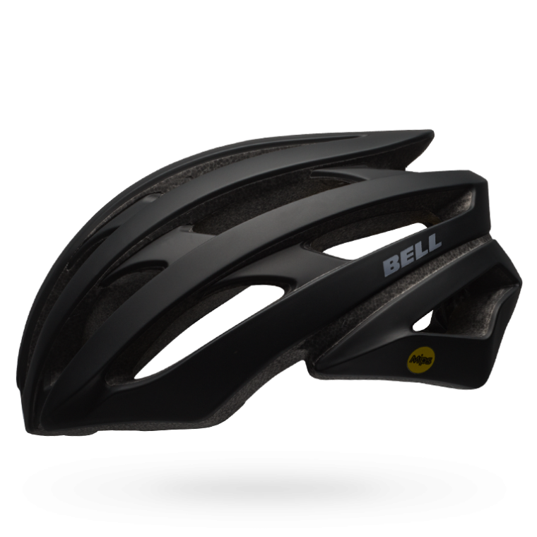 CASCO CICLISMO ROAD BELL STRATUS solid black BS.106.png