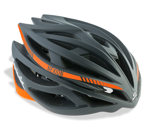 CASCO CICLISMO SPIUK NEXION HELMET BLACK ORANGE.jpg