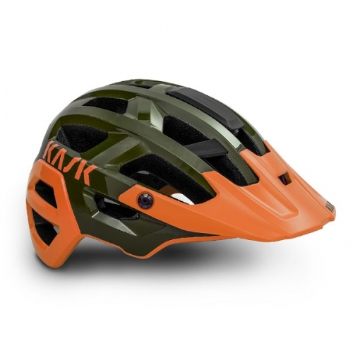 CASCO DA CICLISMO MTB KASK REX GREEN ORANGE.jpg