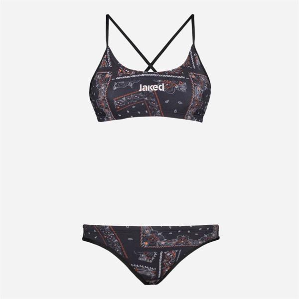 Swimming jacket woman jaked two piecse bandanas jctbd10006 for Costumi due pezzi piscina