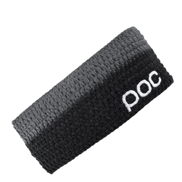 FASCIA POC CROCHET HEADBAND 64080 BLACK GREY.jpg