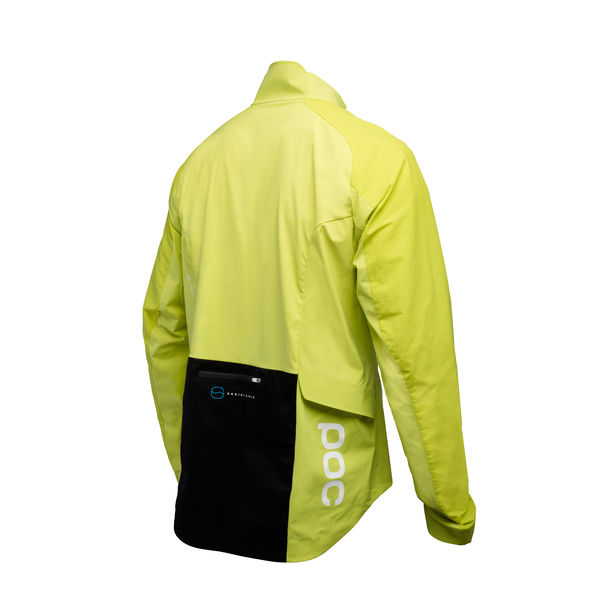 GIACCA CICLISMO POC RESISTANCE PRO XC SPLASH JACKET 52530 YELLOW BACK.jpg