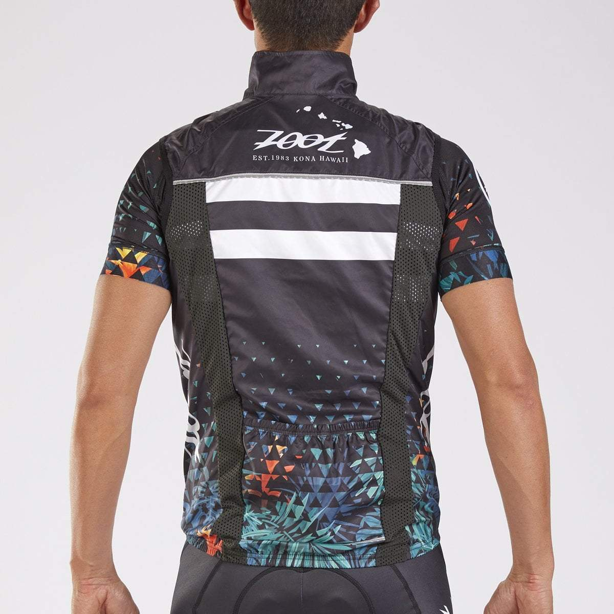 GILET CICLISMO ZOOT MEN'S LTD CYCLE WIND VEST ALI'I 2018 BACK.jpg
