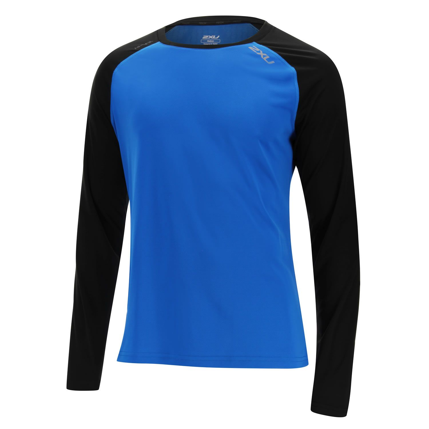 MAGLIA RUNNING 2XU MEN'S TECH VENT LS TOP MR4080A CBB BLK.jpg