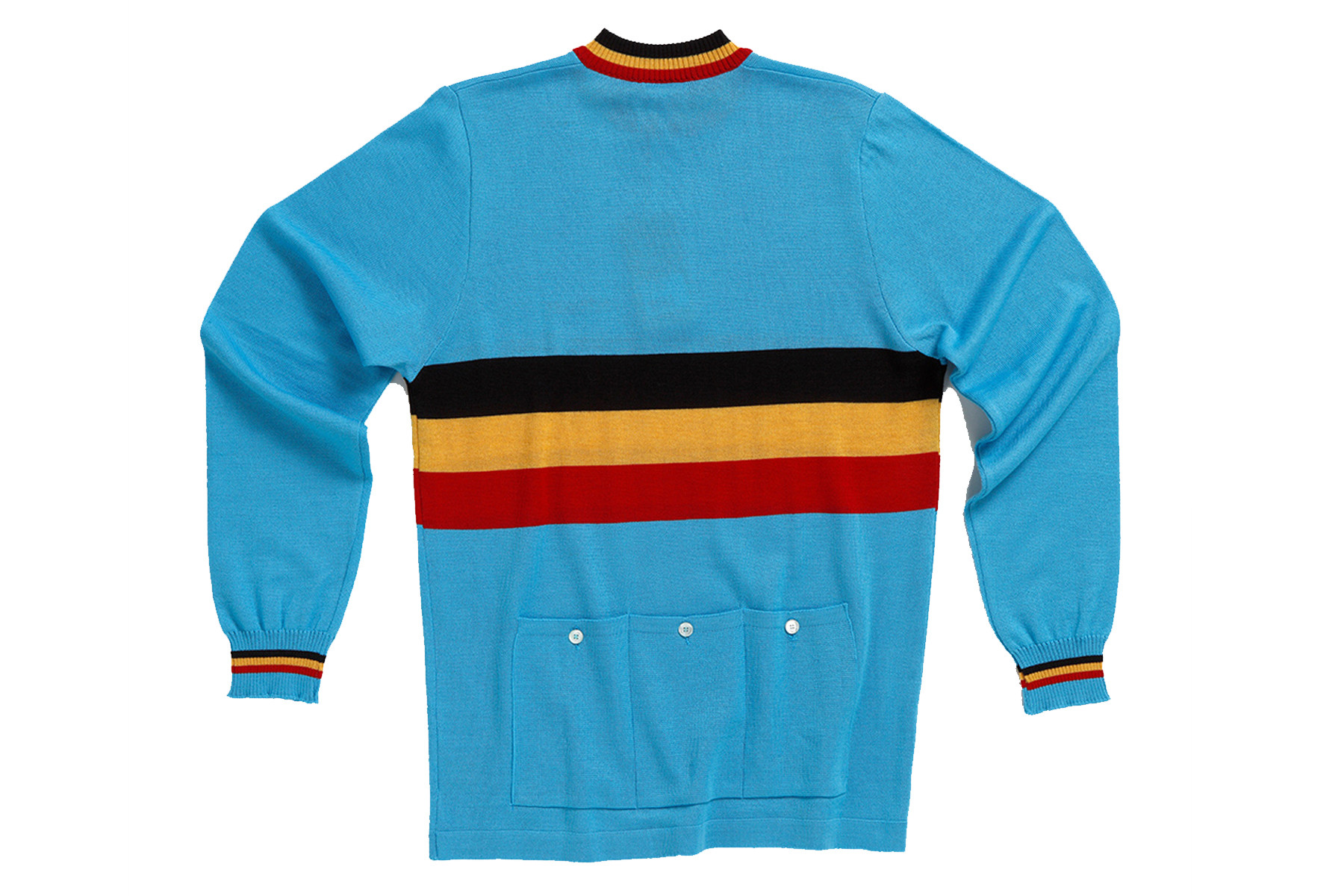 MAGLIA VINTAGE DE MARCHI BELGIUM NATIONAL TEAM LONG SLEEVE JERSEY BACK86.jpg