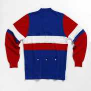 MAGLIA VINTAGE DE MARCHI FRANCE NATIONAL TEAM LONG SLEEVE JERSEY BACK.jpg