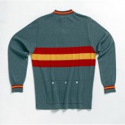 MAGLIA VINTAGE DE MARCHI SPAIN NATIONAL TEAM LONG SLEEVE JERSEY BACK.jpg