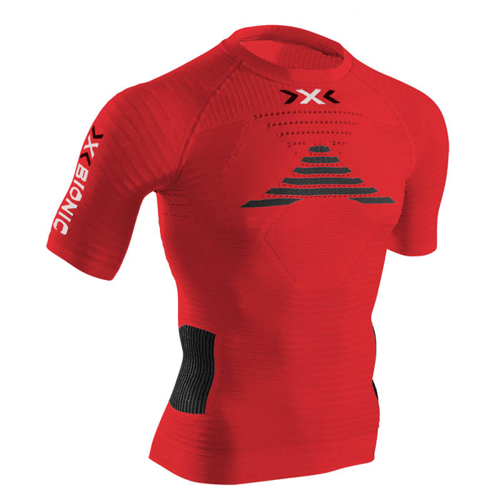 MAGLIA X-BIONIC RUNNING EFFEKTOR POWER SHIRT SHORT O020596 red.jpg