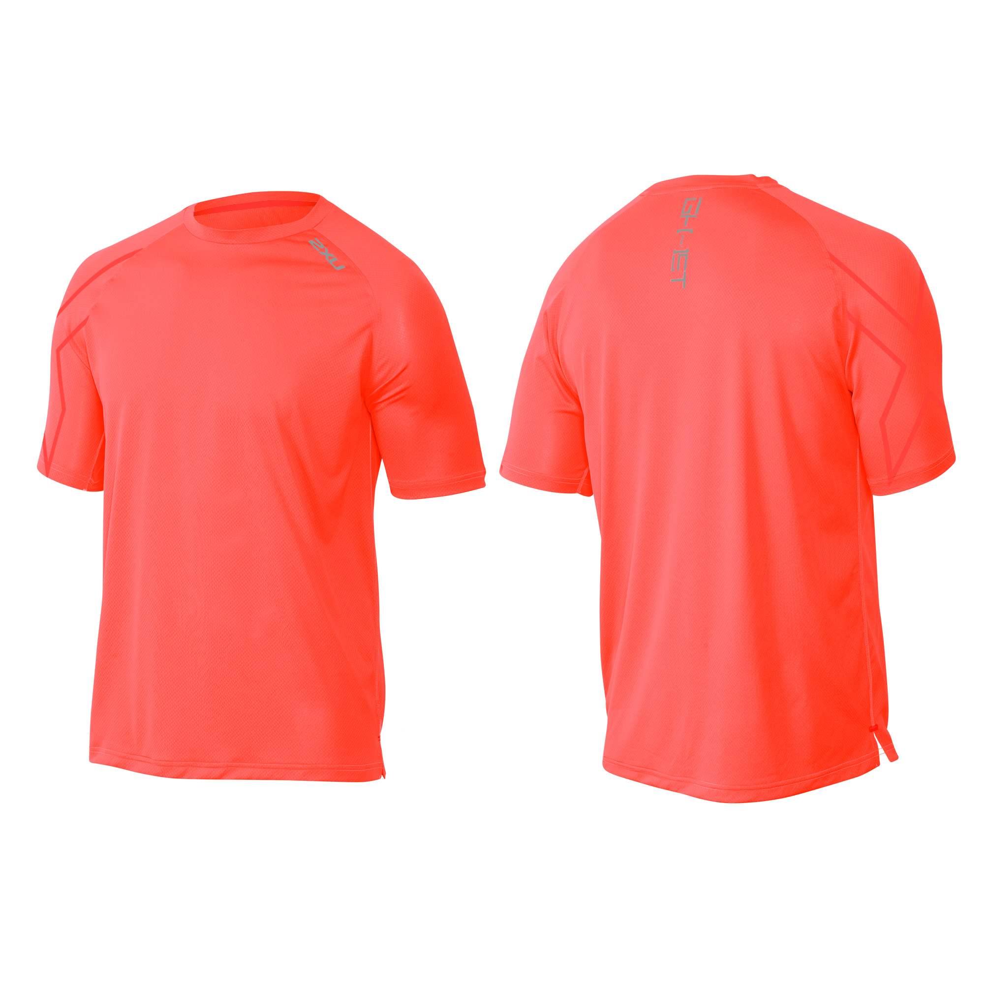MAGLIA RUNNING 2XU MEN'S GHST S/S TOP MR3728A sunburst orange