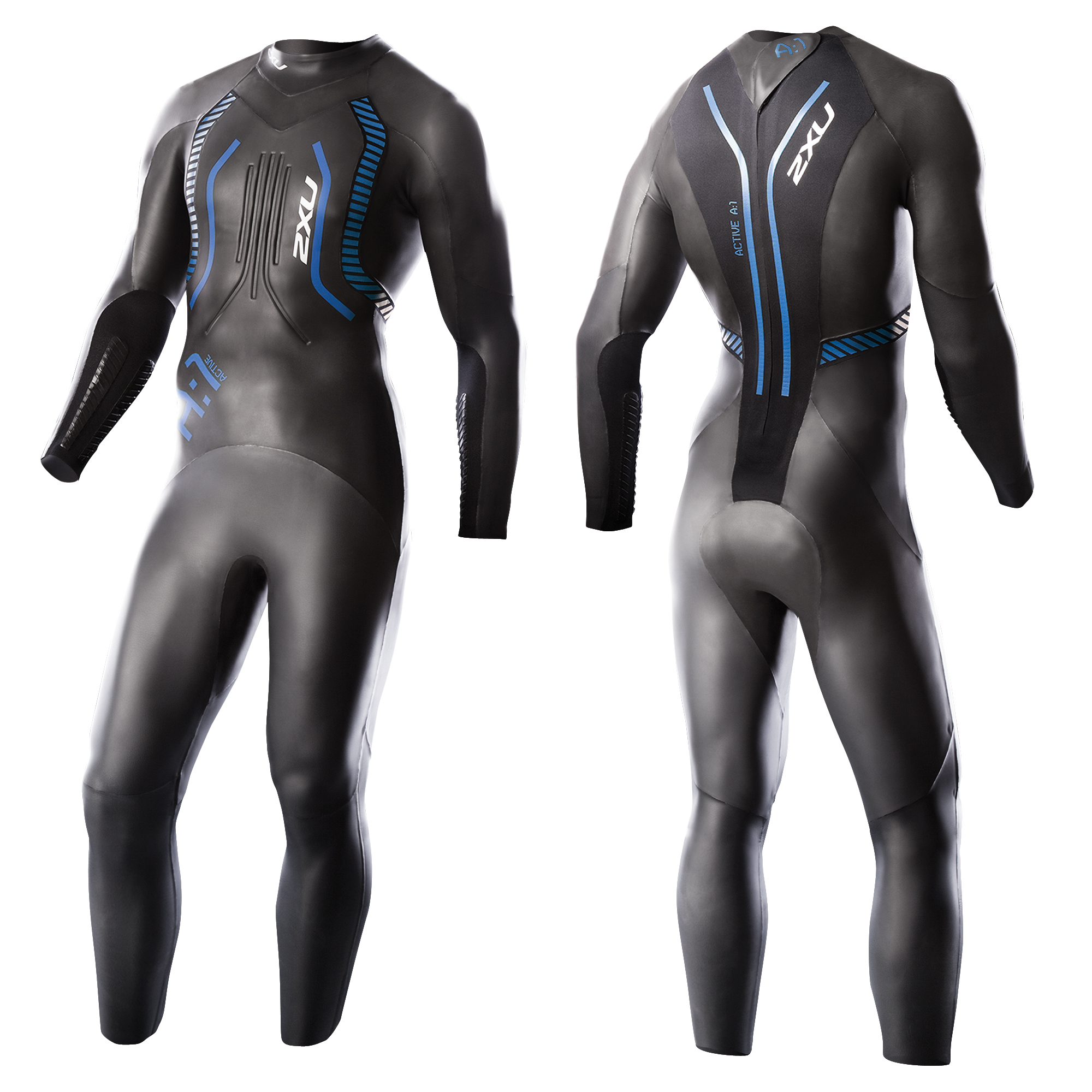 MUTA 2XU A:1 ACTIVE MEN'S TRIATHLON WETSUIT MW2304C