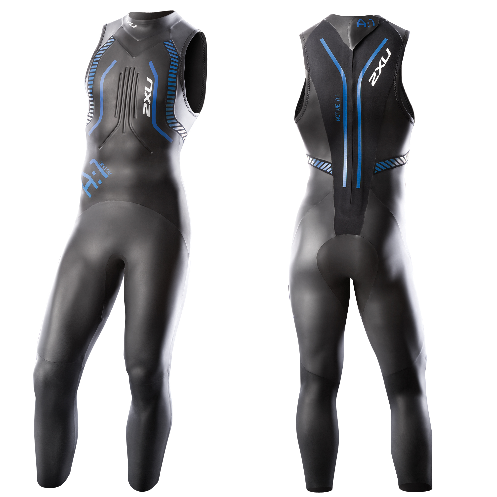 MUTA 2XU A:1 ACTIVE SLEEVELESS  MEN'S TRIATHLON WETSUIT MW2305C