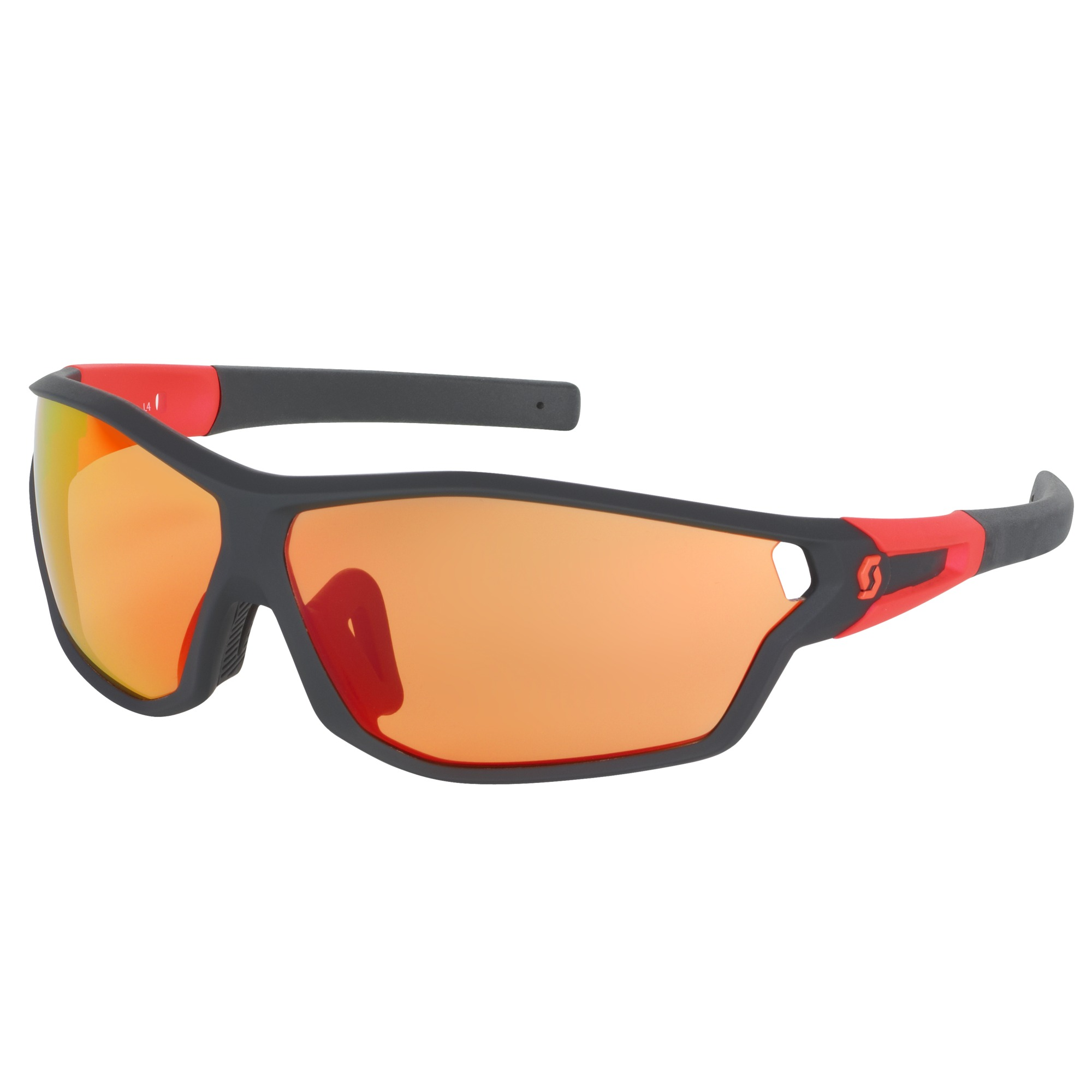 OCCHIALE SPORTIVO SCOTT LEAP FULL FRAME SUNGLASSES 241968 BLACK MATT NEON RED.jpg