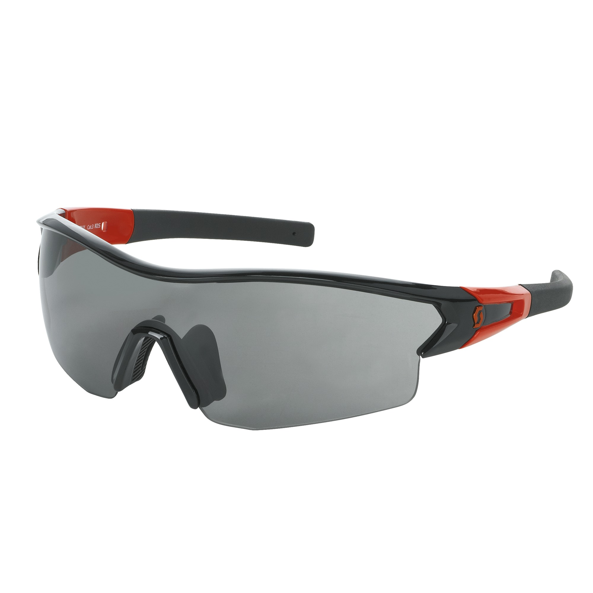 OCCHIALE SPORTIVO SCOTT LEAP SUNGLASSES 238999 BLACK GLOSSY ORANGE GREY