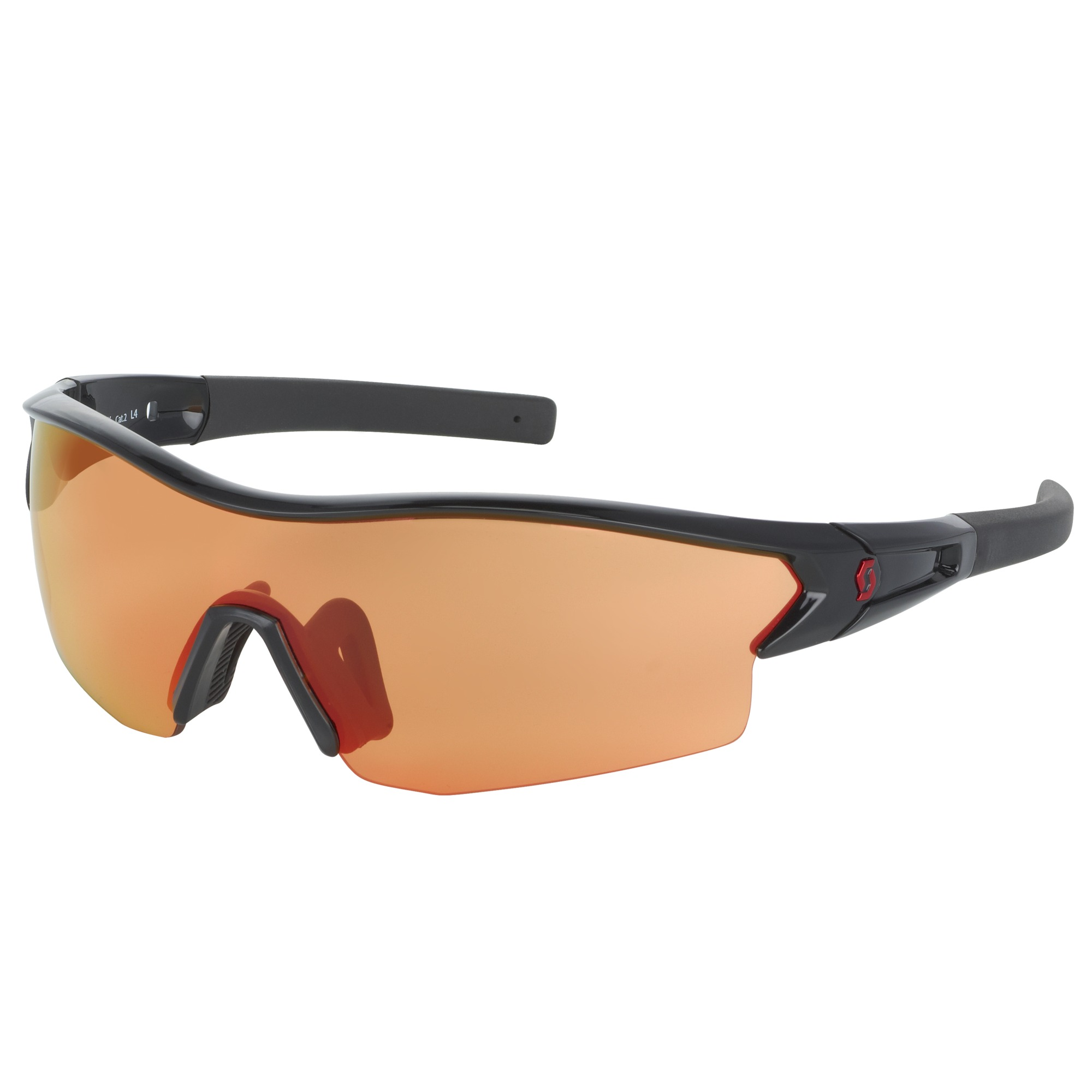 OCCHIALE SPORTIVO SCOTT LEAP SUNGLASSES 238999 BLACK GLOSSY RED.jpg