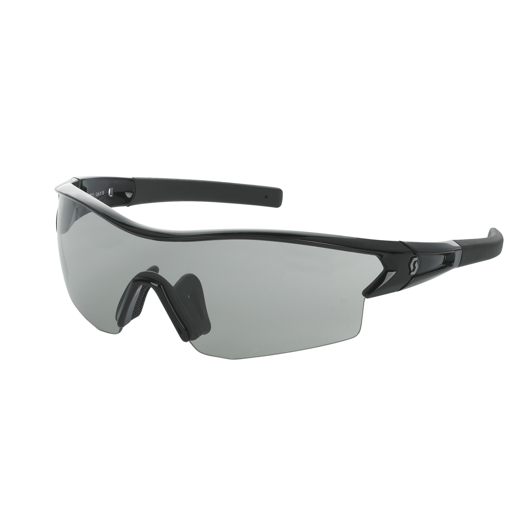 OCCHIALE SPORTIVO SCOTT LEAP SUNGLASSES 238999 BLACK GLOSSY GREY