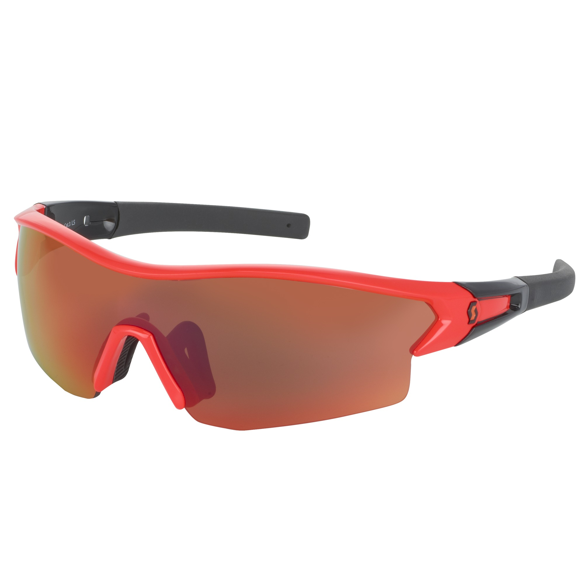 OCCHIALE SPORTIVO SCOTT LEAP SUNGLASSES 238999 NEON RED GLOSSY BLACK.jpg