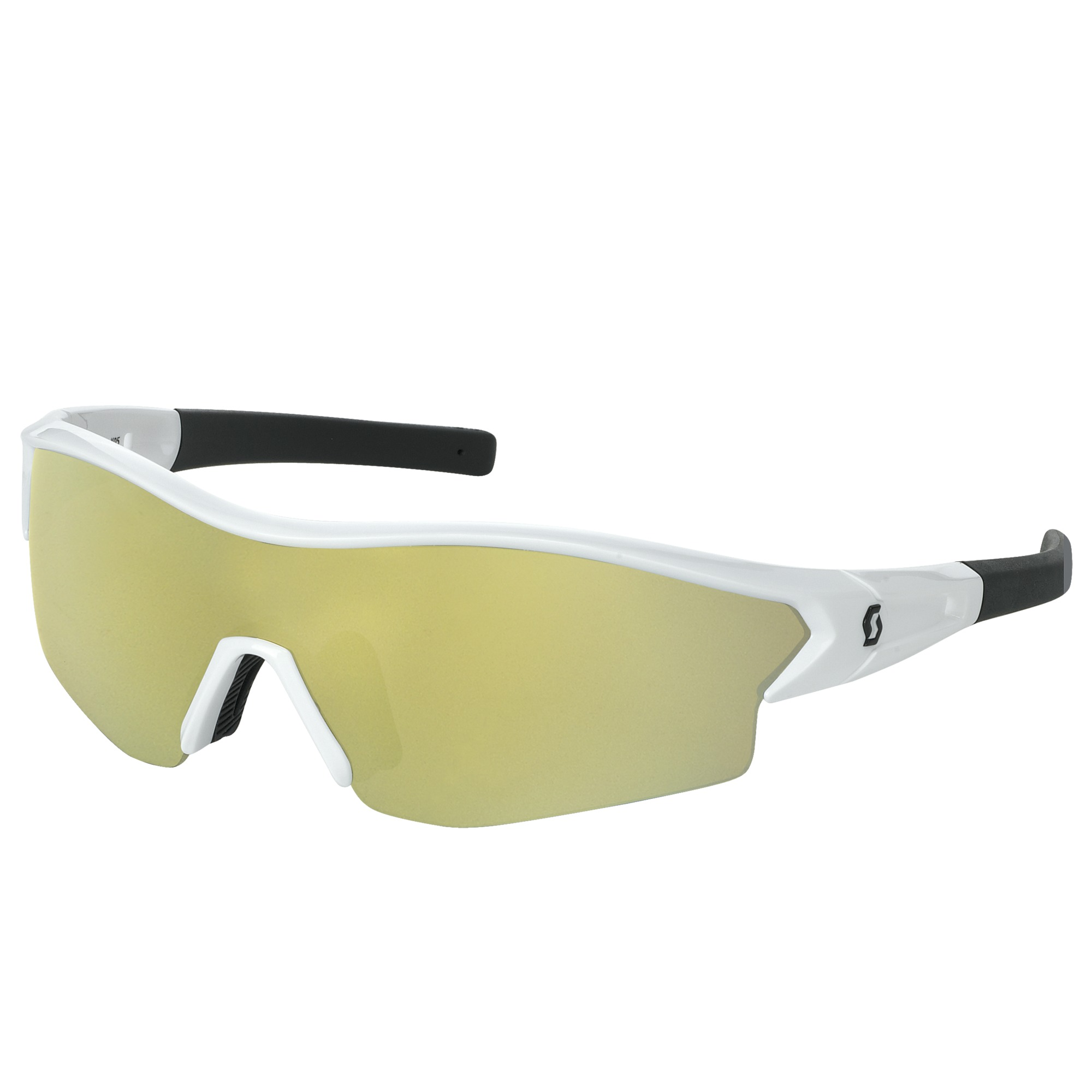 OCCHIALE SPORTIVO SCOTT LEAP SUNGLASSES 238999 WHITE GLOSSY BLACK GOLD