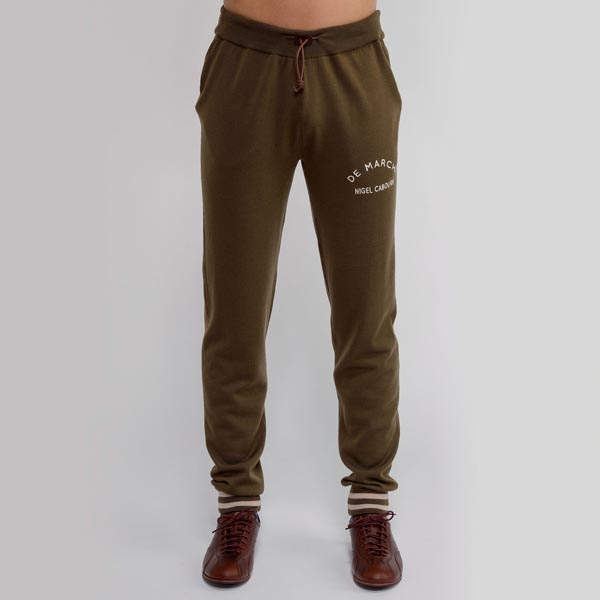 PANTALONE VINTAGE DEMARCHI NIGEL CABOURN WOOL KNITTED TRACK PANT ARMY.jpg