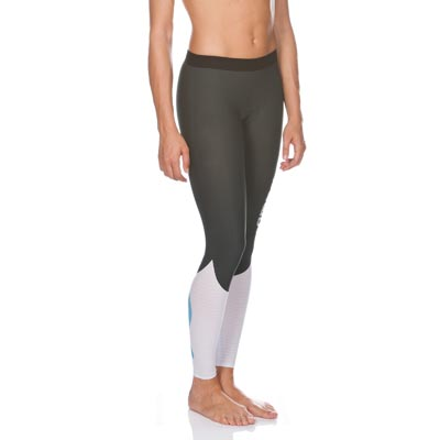 PANTALONI ARENA CARBON COMPRESSION LONG TIGHT WOMEN 1D142 FRONT.jpg