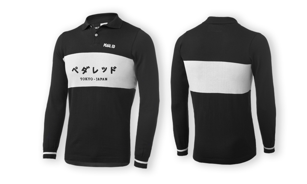 PEdALED TOKYO RIDING POLO LONGSLEEVE BLACK.jpg