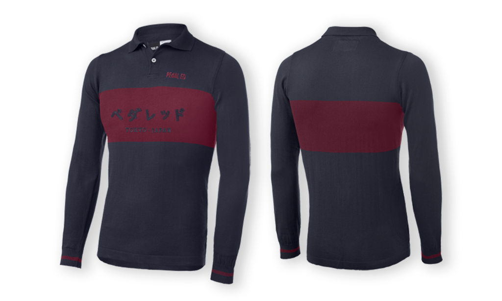 PEdALED TOKYO RIDING POLO LONGSLEEVE BLUE.jpg