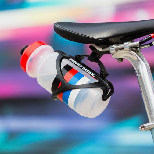 Profile Design Post Saddle Rail Mount Behind Seat Water Bottle Cage Holder RMP