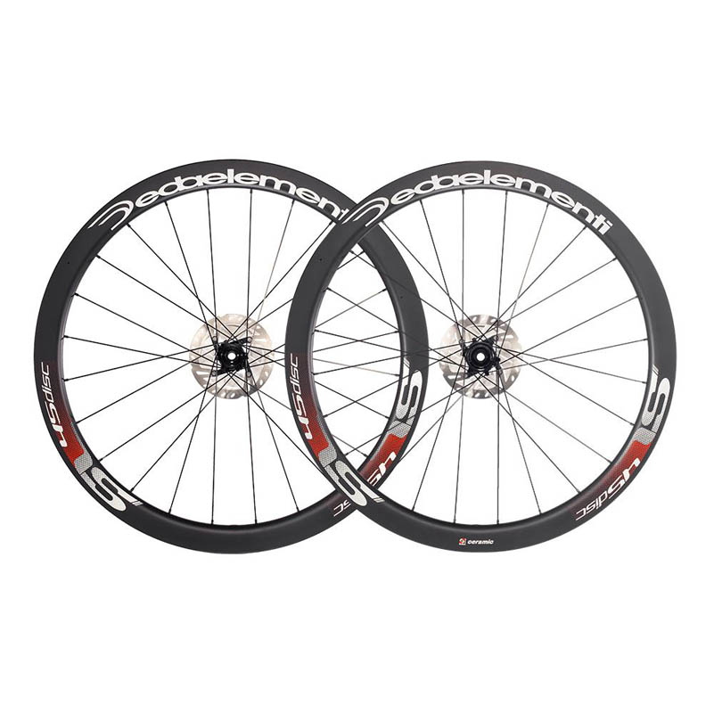RUOTE DEDAELEMENTI SL45TDB CARBON TUBULAR DISC BRAKE wheelset TEAM.jpg