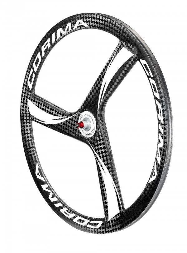RUOTE IN CARBONIO A 3 RAZZE CORIMA 3 SPOKE HM CARBON WHEEL front.jpg