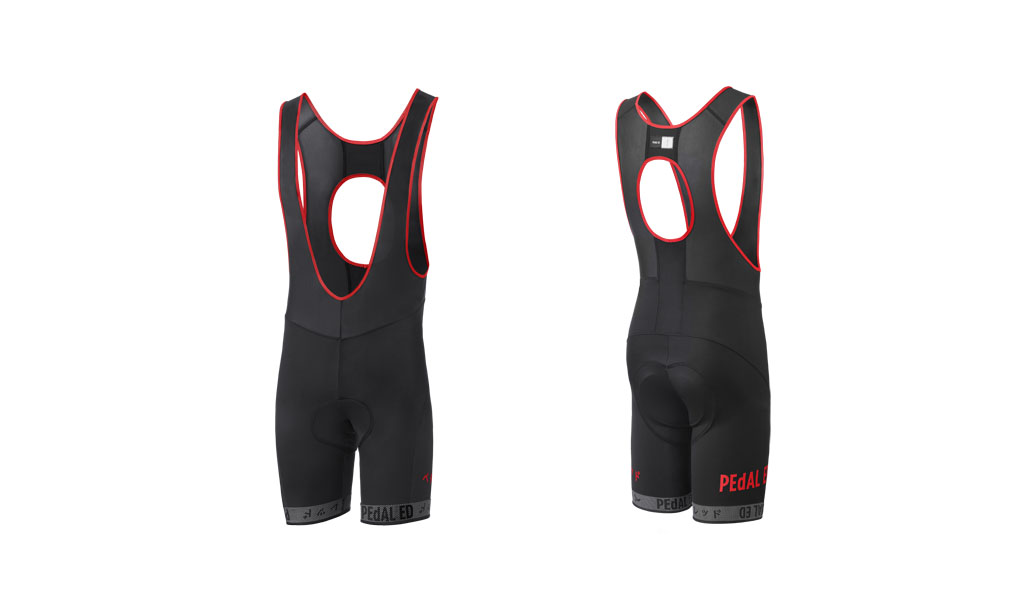 SALOPETTE CICLISMO PEdALED HEIKO BIB SHORTS RED.jpg