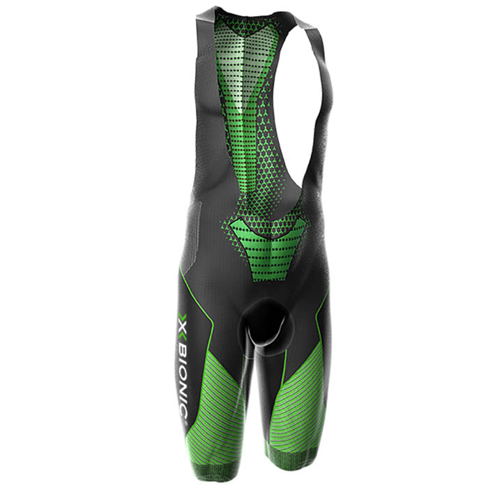 SALOPETTE X-BIONIC BIKING MAN TWYCE BIB SHORT ENDURANCE O100533 BLACK GREEN.jpg