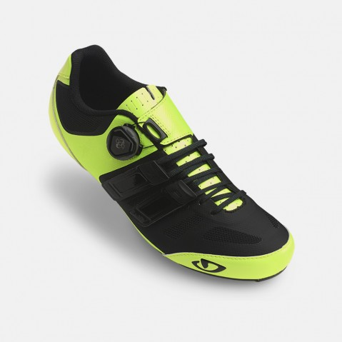 SCARPA CICLISMO GIRO SENTRIE TECHLACE yellow black GR268.jpeg