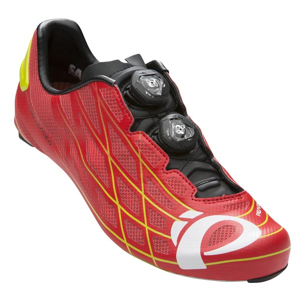 SCARPA CICLISMO PEARL IZUMI PRO LEADER III MEN red lime.jpg